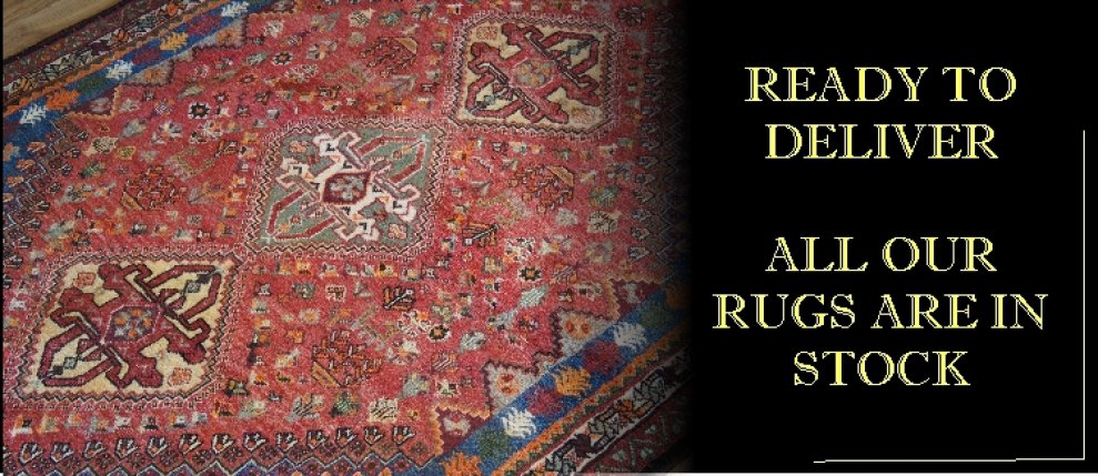 All rugs are in stock