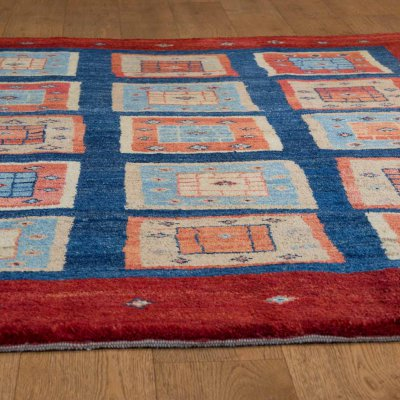 Hand Knotted Gabbeh Rug From Iran Persian Sn 17118