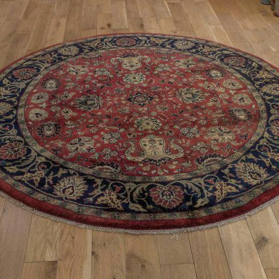 Hand Knotted Mashad Palace Rug From India Sn 17299 Olney