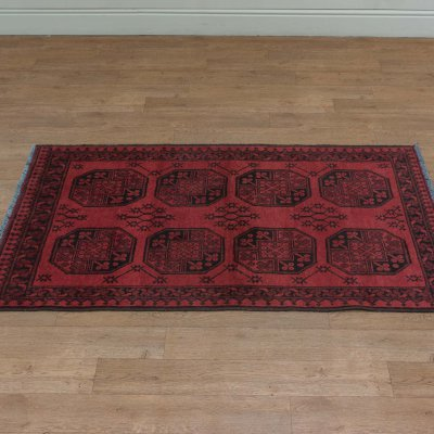 Hand Knotted Aqcha Rug From Afghanistan Sn 21795 Olney
