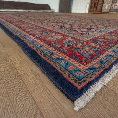 Hand Knotted Mahal Rug From Iran Persian Sn 22365