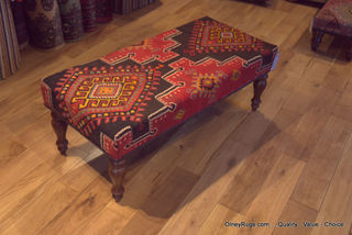 View Our Selection Of Kilim Coverd Stools